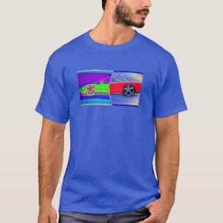 sports cars time machine T-Shirt