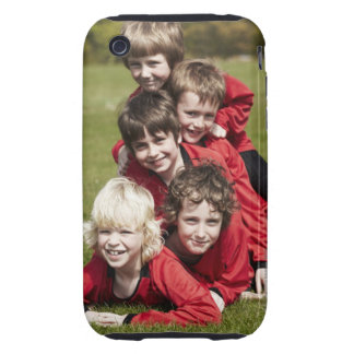 Sports, Children, Football iPhone 3 Tough Cases