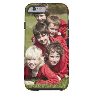 Sports, Children, Football Tough iPhone 6 Case