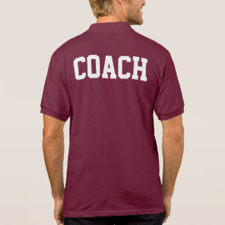 Sports Coach Polo Shirt