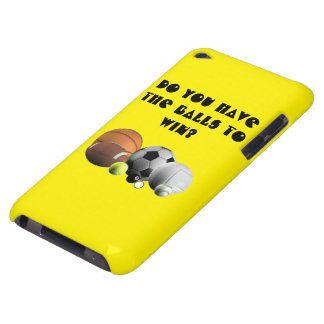 Sports Do you have the Balls to win? Barely There iPod Case