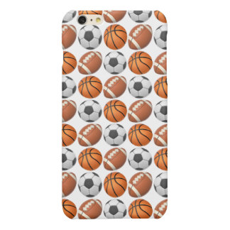 Sports Emoji iPhone 6/6s Plus Glossy Finish Case