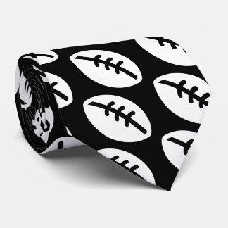 Sports Equipments Pictograph Tie