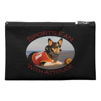 Sports Fan with Attitude Travel Accessory Bag