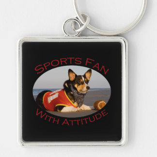 Sports Fan with Attitude Key Chains