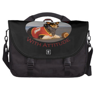 Sports Fan with Attitude Laptop Computer Bag