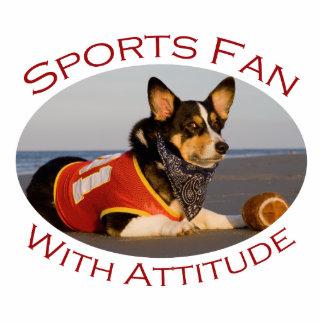 Sports Fan with Attitude Photo Cutout