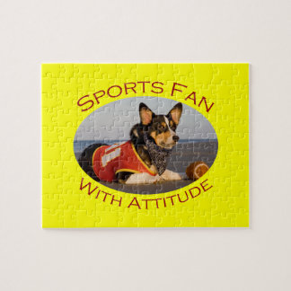 Sports Fan with Attitude Puzzle