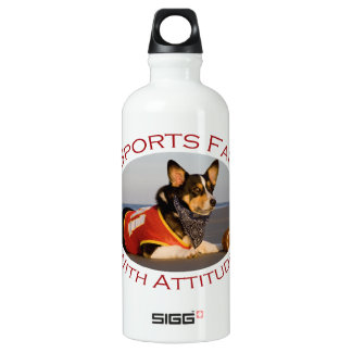 Sports Fan with Attitude SIGG Traveller 0.6L Water Bottle