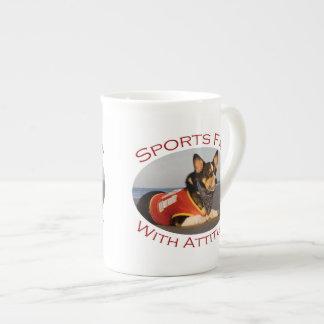 Sports Fan with Attitude Porcelain Mug