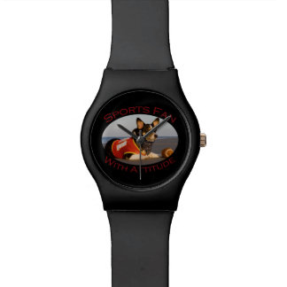 Sports Fan with Attitude Watches