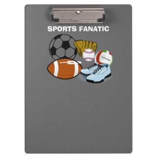 Sports Fanatic Clipboards