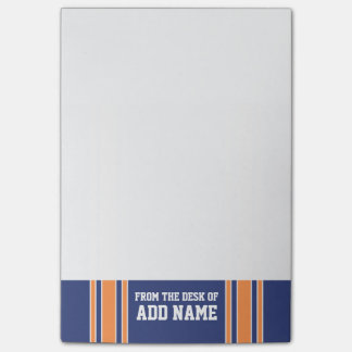 Sports Jersey with Your Name and Number Post-it Notes
