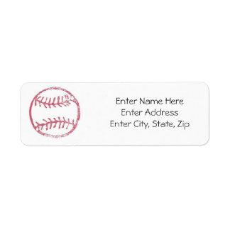 Sports Label #4 Return Address Label