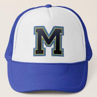 Sports Letter M Trucker Hat