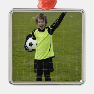 Sports, Lifestyle, Football 7 Metal Ornament