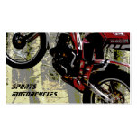 Sports Motorcycles business card