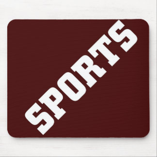 SPORTS MOUSE PAD