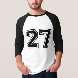 sports number 27 t-shirts