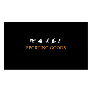 Sports Pack Of Standard Business Cards