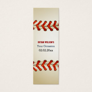 Sports Party Baseball theme Personalized Gift Tags