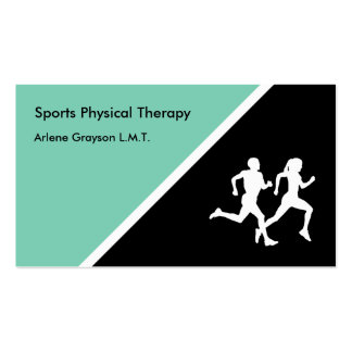 Sports Physical Therapist Pack Of Standard Business Cards