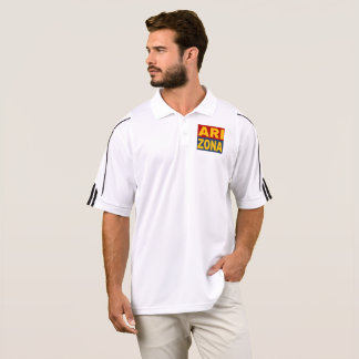 SPORTS SHIRT ADIDAS GOLF ARIZONA DESIGN