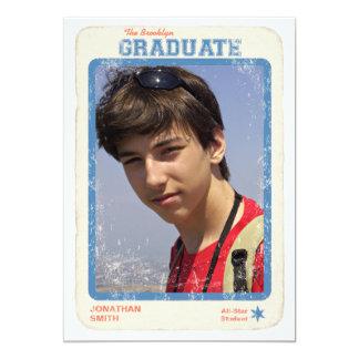Sports Star Graduation Card