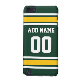 Sports Team Football Jersey Custom Name Number iPod Touch 5G Cover