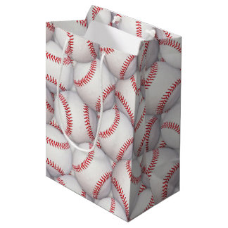 Sports Theme Baseball Birthday Gift Bag