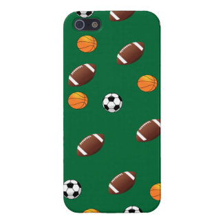 Sports Theme Green Background  iPhone5 Case Cover For iPhone 5/5S