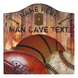 Sports Themed Man Cave Decor Custom Man Cave Signs