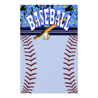 Sports writer stationery