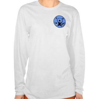 Sportscentre logo Ladies AA Hooded Longsleeve T Shirt