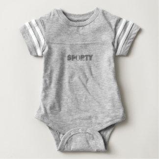 """""""Sporty"""" - Baby Sport Bodysuit, Heather Grey Baby Bodysuit"""