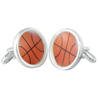 Sporty Basketball Cufflinks