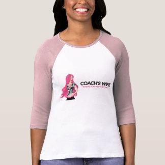 Sporty Coach's Wife 3-quarter length stadium shirt