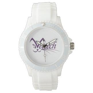 Sporty Vettech watch white