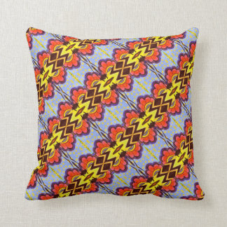 Spot and flowers - Throw Pillow