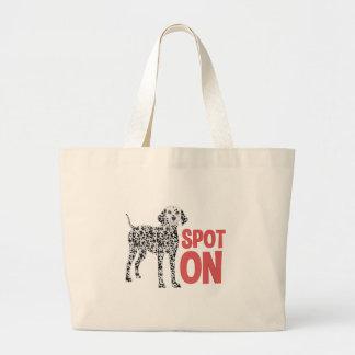 Spot On Large Tote Bag