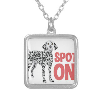 Spot On Silver Plated Necklace