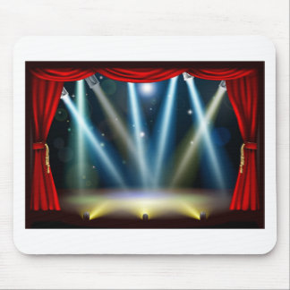 Spotlight theatre stage mousepads