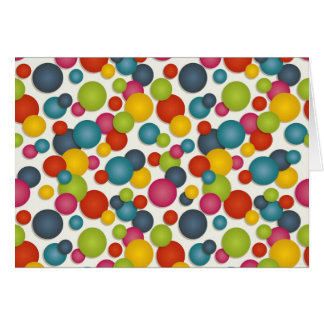 spots and dots card