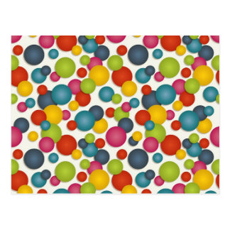 spots and dots postcard