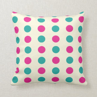 Spots and Stripes American Mojo Pillow/Cushion Throw Pillow