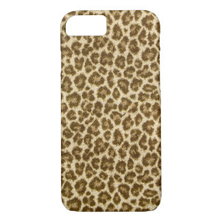 Spotted Animal Fabric-look Pattern iPhone 8/7 Case