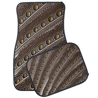 Spotted Argus pheasant feather Floor Mat
