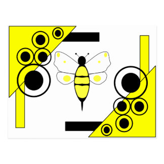 Spotted Bumble Bee Postcard
