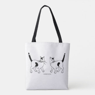 Spotted Cat Tote Bag