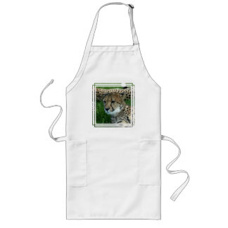 Spotted Cheetah Long Apron
